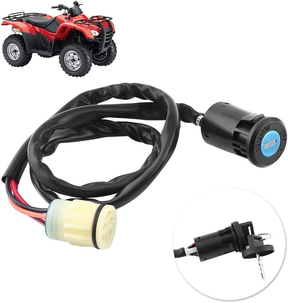 Ghost thorn Motorcycle ATV Ignition Key Switch Start Engine Lock For Honda TRX420 Rancher 07-11 TRX450 Foreman 02-04