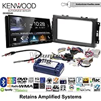 Volunteer Audio Kenwood DDX9904S Double Din Radio Install Kit with Apple CarPlay Android Auto Bluetooth Fits 2007-2008 Ram, 2006-2007 Chrysler 300