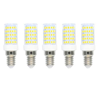 Regulable E14 Bombillas LED 10 Vatios Equivalente a 80W Bombillas Halógenas,Bombillas Incandescentes,Blanco