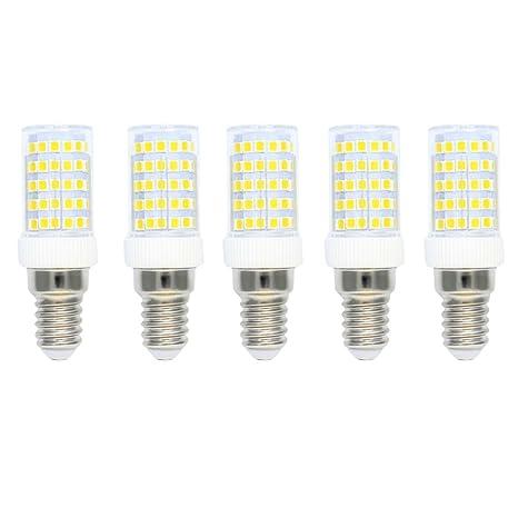 Regulable E14 Bombillas LED 10 Vatios Equivalente a 80W Bombillas Halógenas, Bombillas Incandescentes,Blanco