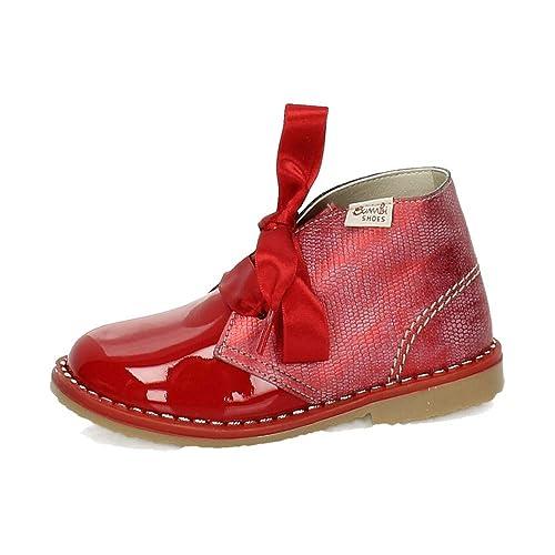 BAMBINELLI 5151 Botitas Charol NIÑA Botas-Botines: Amazon.es: Zapatos y complementos