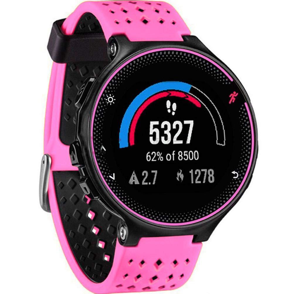 JiaMeng Compatible con Garmin Forerunner 735XT Watch2,Banda de Reloj de Repuesto de Correa de Silicona Suave