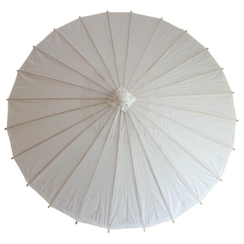 和傘 日傘 無地 直径84cm 白 5本組 B079YKX8SM白 5本組 直径84cm (親骨42cm)