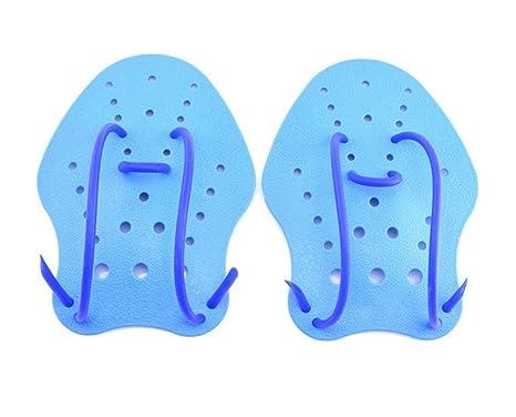 WENBIAOXUE Adulto Niños Ballena Mano Web Palas Flippers Soft ...
