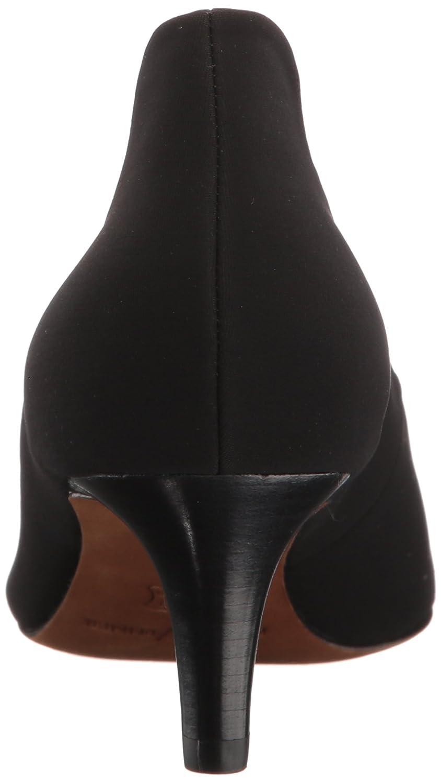 Donald J Pliner Women's Bari Pump B06XP7P5X1 8.5 B(M) US|Black Crepe