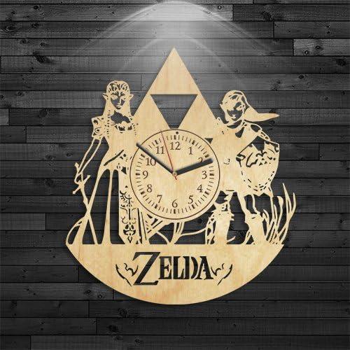 Amazon.com: Zelda Reloj, Zelda regalo de cumpleaños, Legend ...