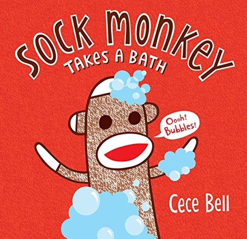 Sock Monkey Takes a Bath (Cece Bell's Sock Monkey)