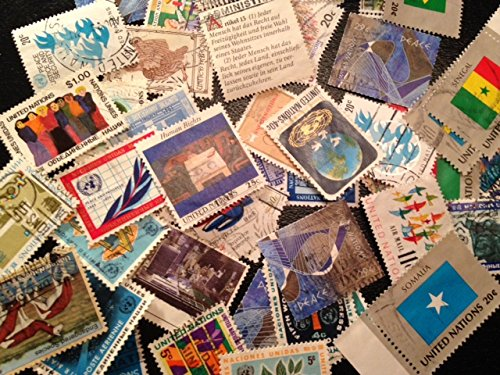 - Stamp Collection 50 Different United Nations Used Stamps. Special Gift in every order!