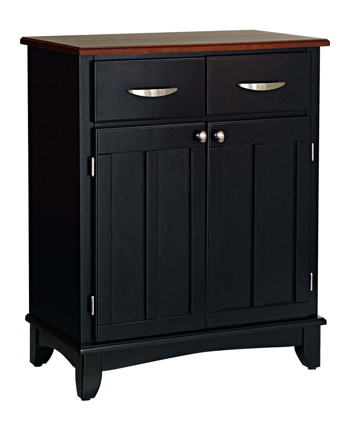 Home Styles 5001-0042 Small Wood Buffet Sideboard -  - sideboards-buffets, kitchen-dining-room-furniture, kitchen-dining-room - 61ZhmQUXgQL -