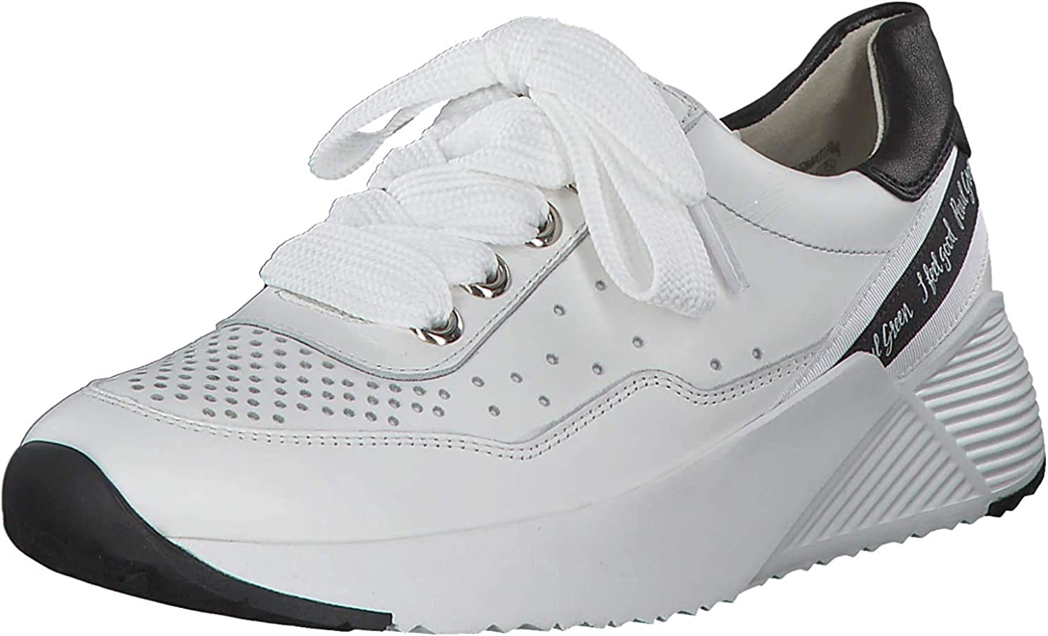 Paul Green Women's Low Sneaker White Weiß
