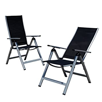 Lot De 2 Chaises 6 Positions Rglage Chaise Pliable Jardin
