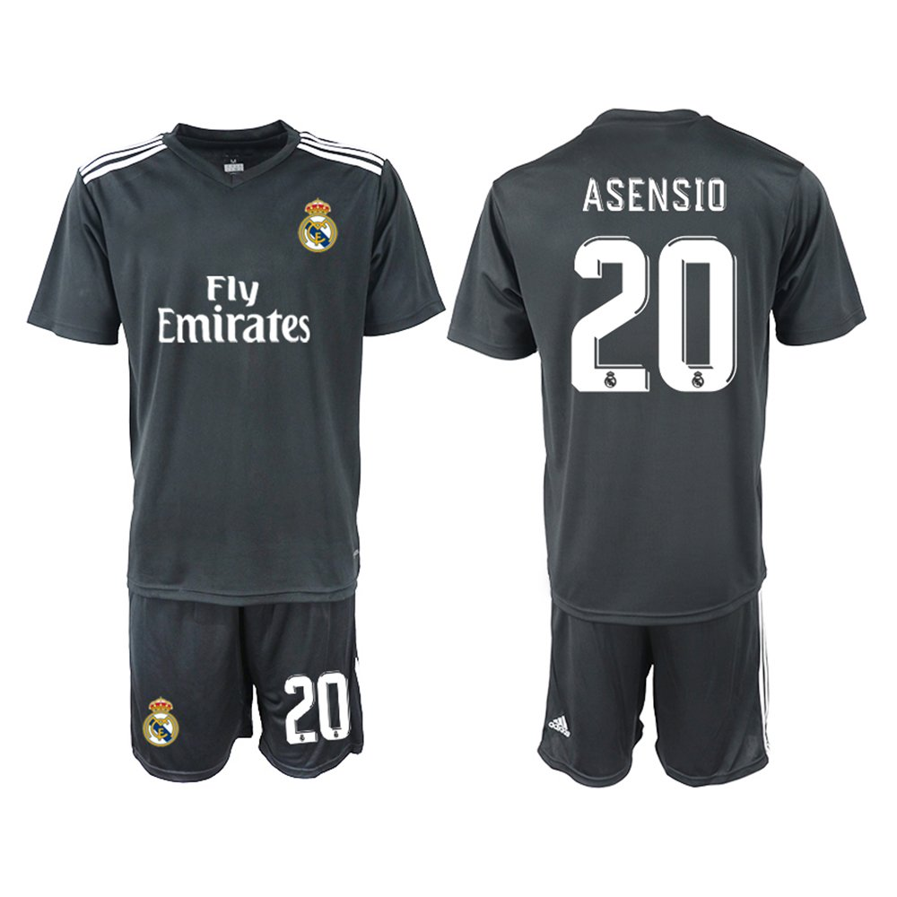 FASjey 2018/19 New Real Madrid Asencio Away Men's Soccer Jersey