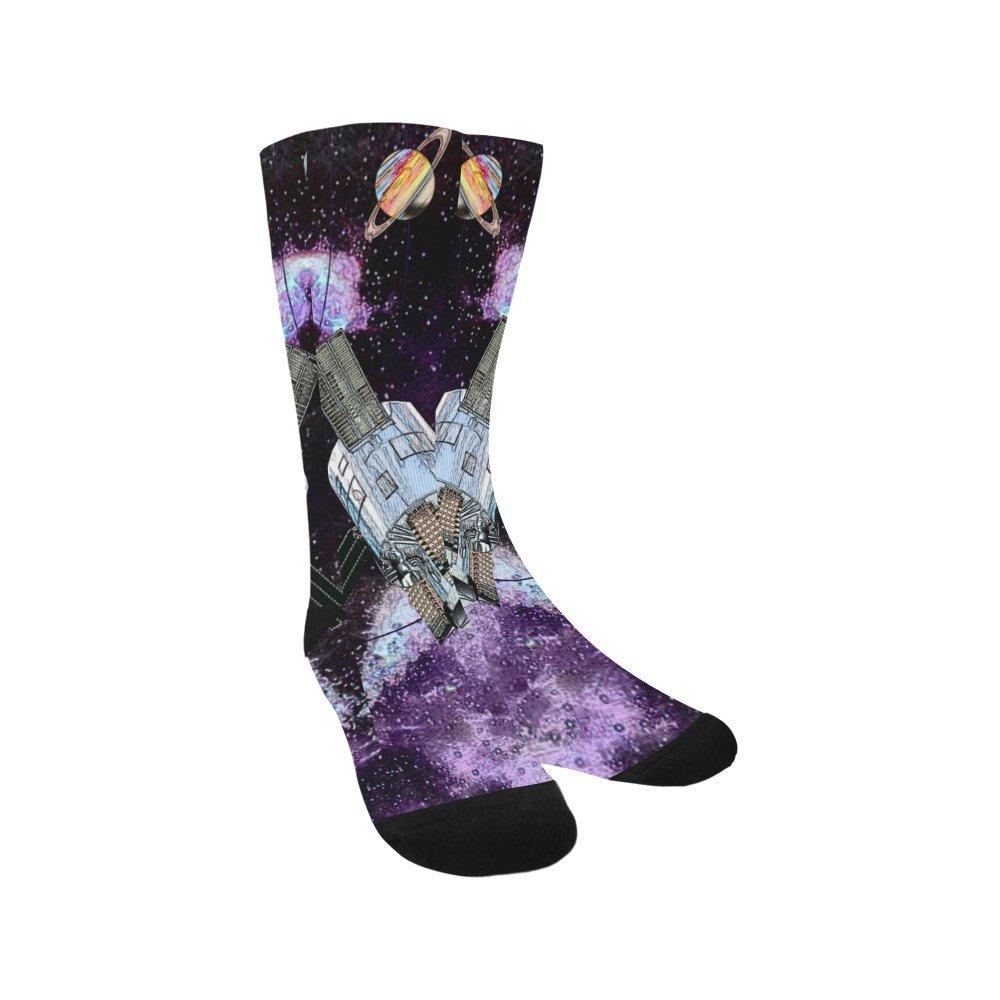 Unique Debora Custom Hosiery Knee-High Socks Leg Warmers for Unisex