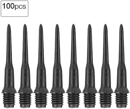 100 Stück 30mm 2BA Gewinde Kunststoff Soft Tips Dart Points für elektronische