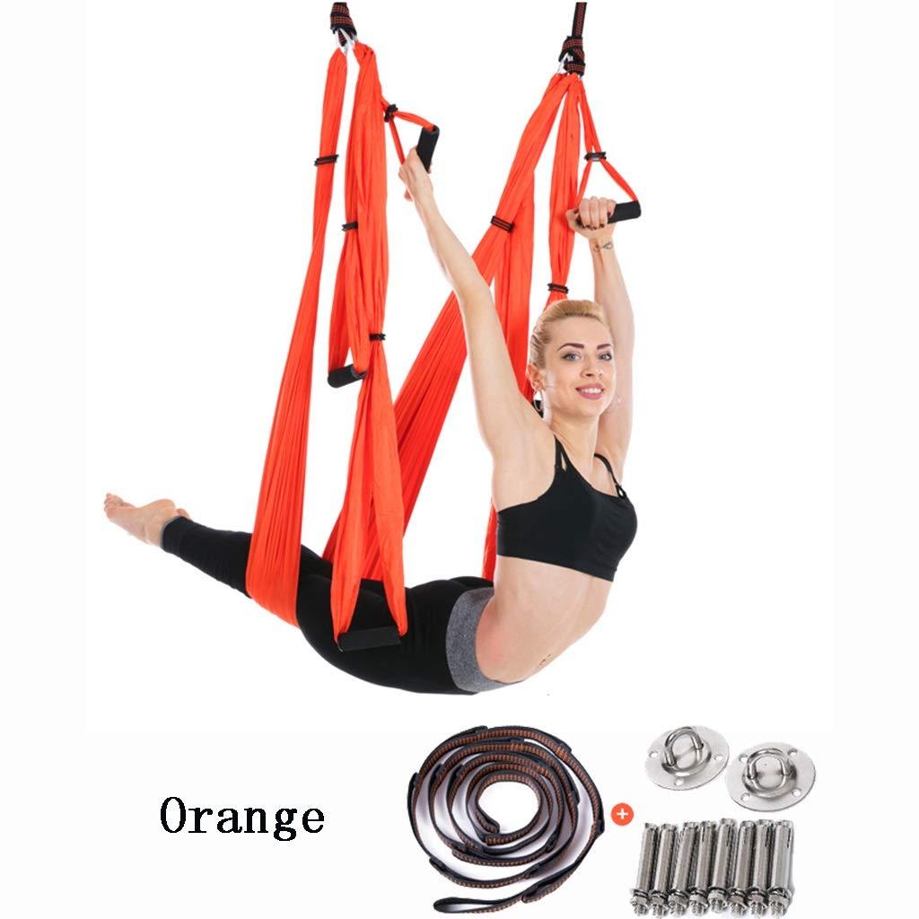 NSC Hamaca Yoga 6 Asas Aerial Yoga Columpio Seda Indoor Anti ...