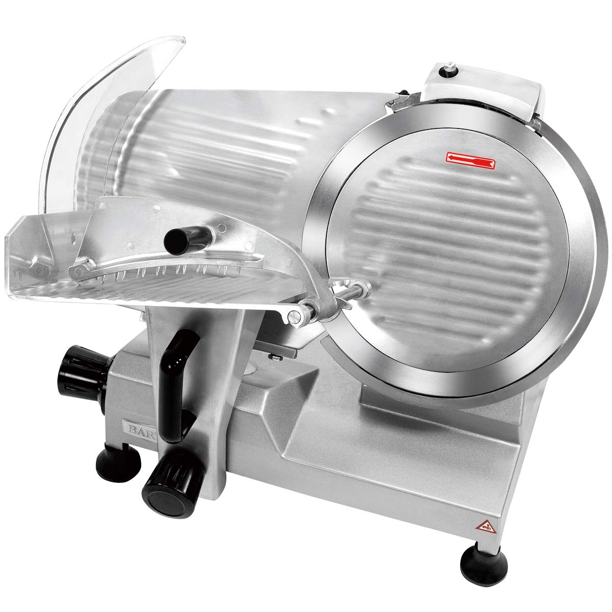 """Barton 12"""" Blade Commercial Stainless Steel Semi-Automatic Meat Slicer Electric Deli Food Slicer Veggies Cutter Premium Built-in Sharpener 320W"""