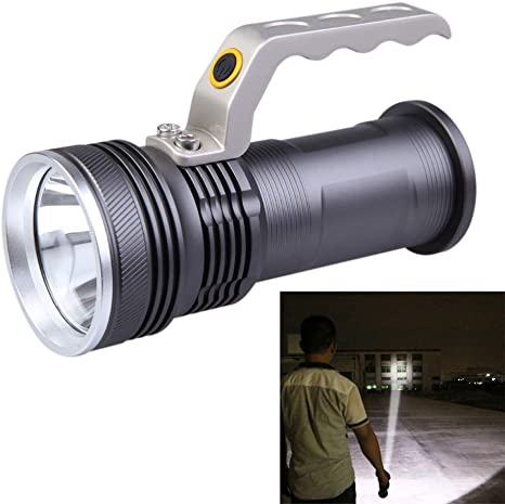 Jm 3Mode Long Beam Cree Rechargeable Led Waterproof Flashlight Torch-39 Emergency Lights at amazon