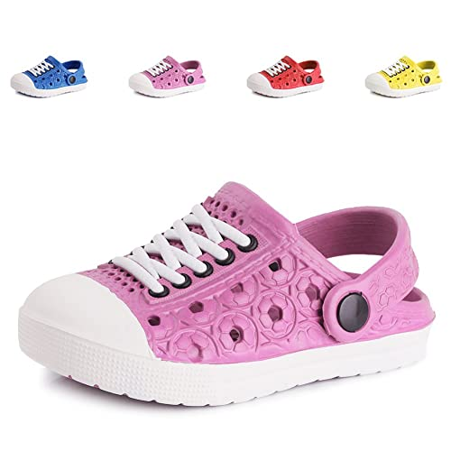 51fc55b7cf8 EQUICK Kids Lightweight Walking Slippers Comfort Sole Bump-It Shoe(Toddler Little  Kid