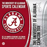 Alabama Crimson Tide: 2020 12x12 Team Wall Calendar