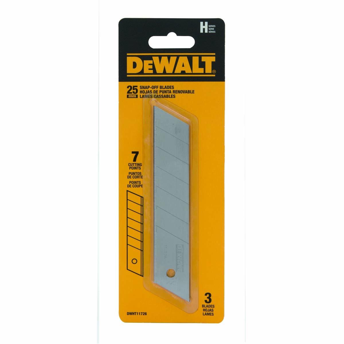DEWALT 25 mm Snap Blades