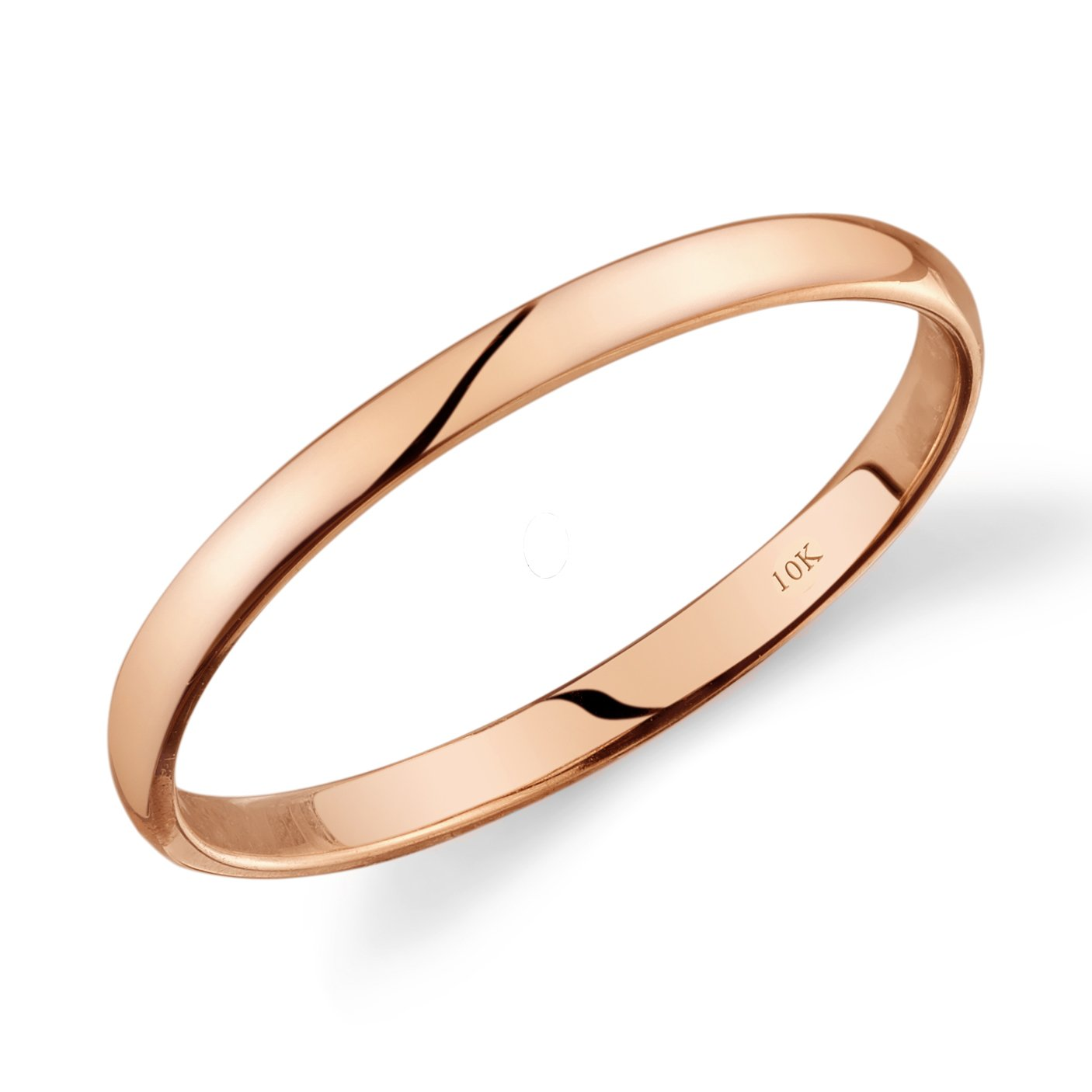 band gold vernring bands contour diamond of vern point shape products thin v choice rose wedding