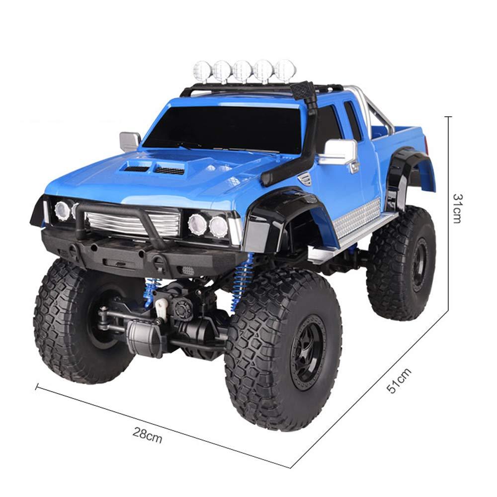 Pinjeer 51 * 28 * 31 cm Camioneta con tracción en Las Cuatro Ruedas Grande Mando a Distancia de Alta Velocidad Off-Road Climbing Car Niños Carreras ...