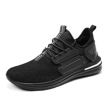 1636565a6038 Amazon.com: HEmei Men's Sneakers,Knit Spring Summer Low-Top Sports ...