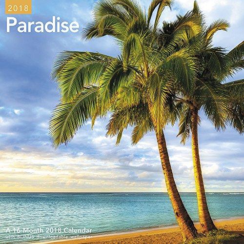 2018 Paradise Wall Calendar (Mead)