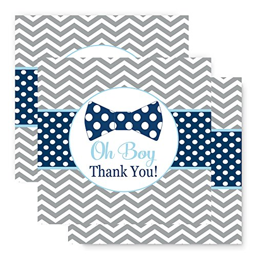 Bow Tie Favor Tags 25 Pack Baby Shower or -