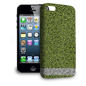 Phone Case For Apple iPhone 5 - Football Sports Pitch Hard Back