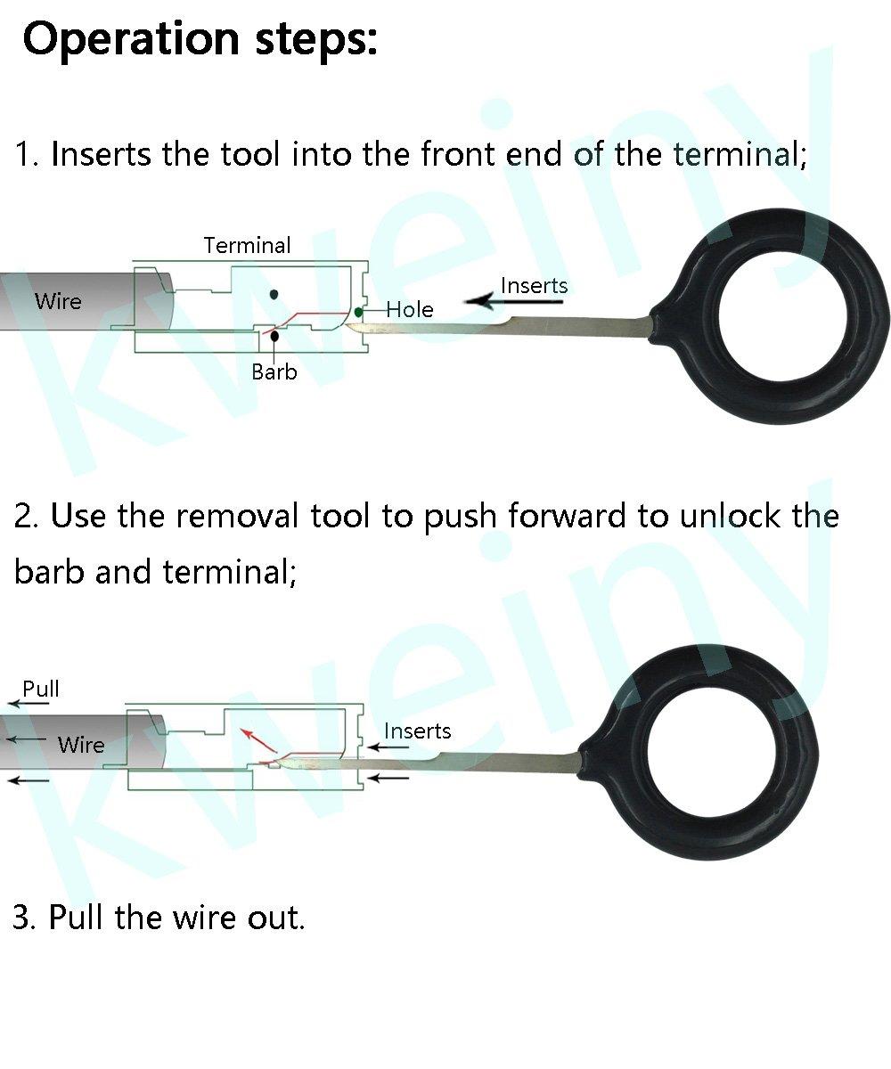 Amazon.com: kweiny Auto Terminals Removal Key Tool Set | Car ...