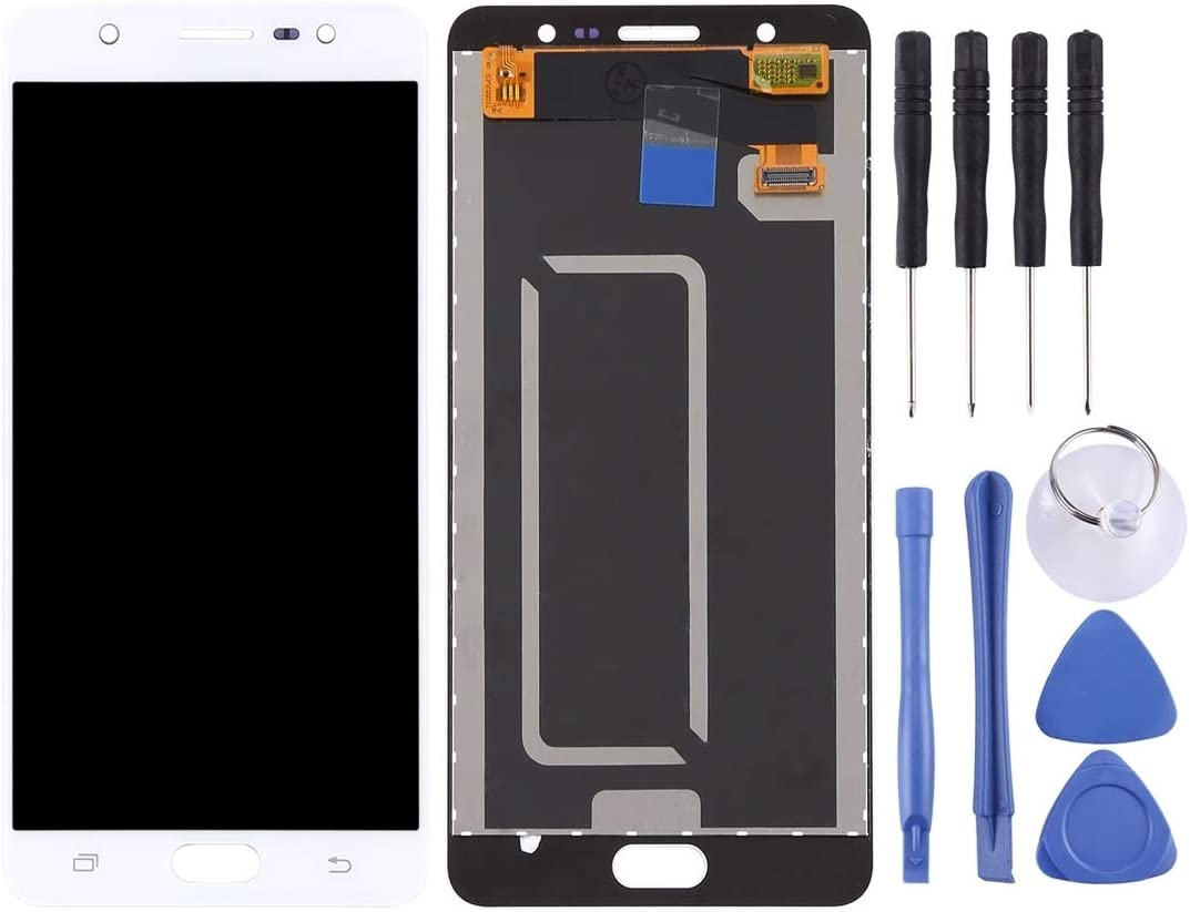 Color : Gold Black Nobrand YBLHZPSH LCD Screen and Digitizer Full Assembly for Galaxy J7 Max // G615 Q