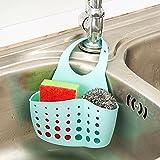 Bluelans® Hanging Storage Drain Basket Sink Organizer Rack Sponge Holder  Kitchen And Bathroom Tools Gadget