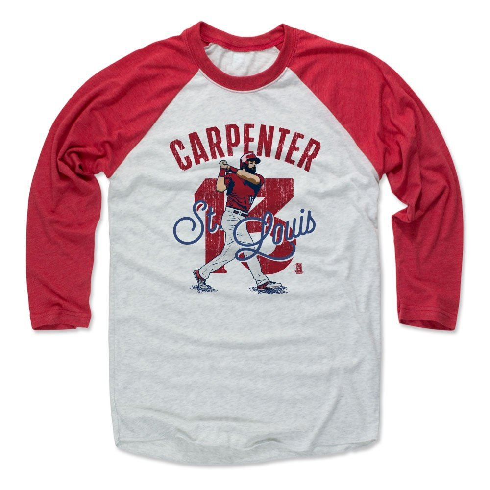 hot sale online 42295 64730 Amazon.com : 500 LEVEL Matt Carpenter Baseball Tee Shirt ...