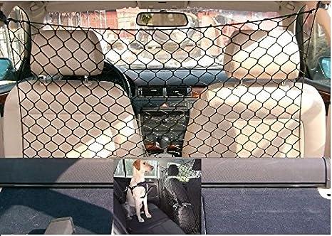 Red divisoria elástica para coche de malla ancha para el transporte de perros, gatos, animales: Amazon.es: Productos para mascotas