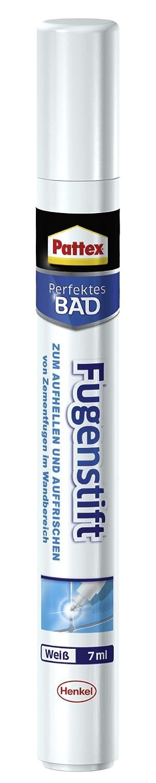 Pattex 2055703 Crayon de joints'Bain parfait', Blanc Henkel