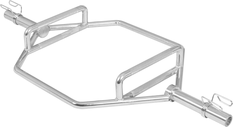 GORILLA SPORTS® Trap Bar Hantelstange 50 mm Chrom bei amazon kaufen