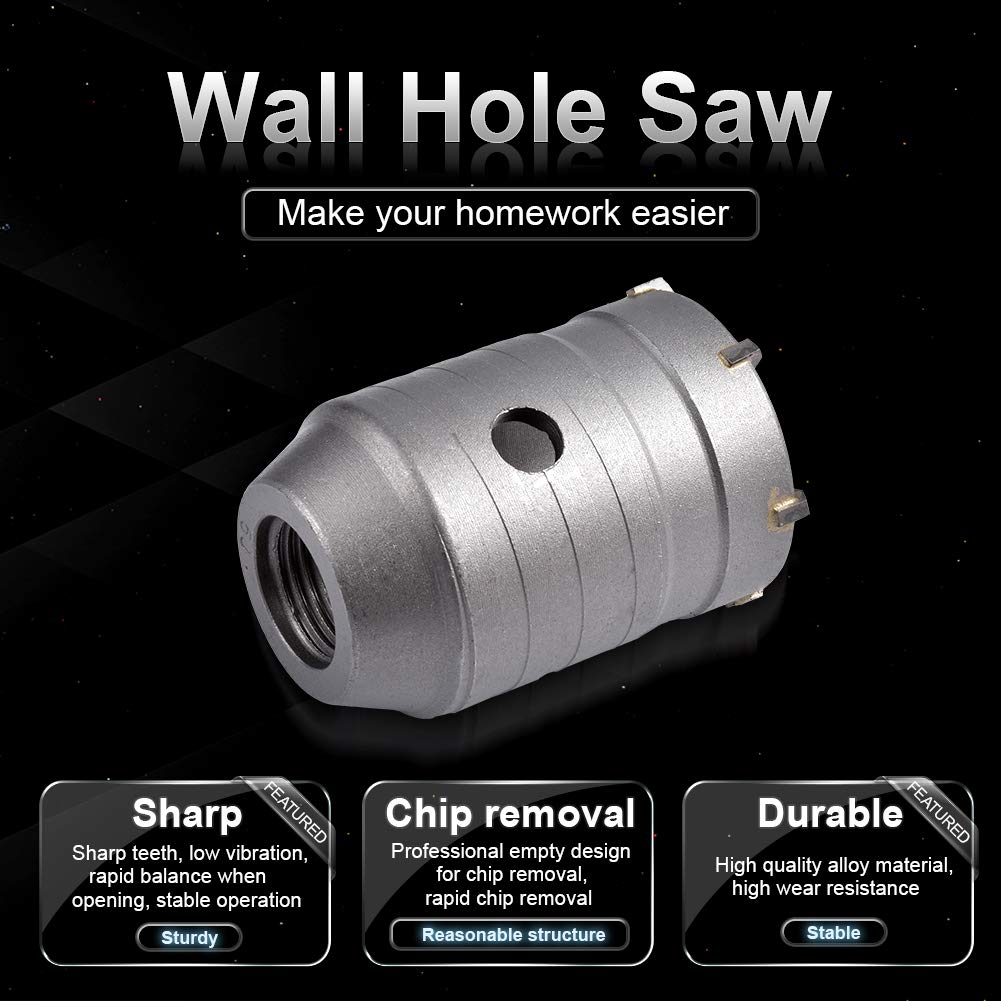 HOEN Corona Perforadora 30-65mm SDS Plus Broca de Hormig/ón Para Taladro de Pared