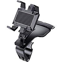 QKFON 1200 Graden Rotatie Universele Auto Dashboard Telefoon Houder Mobiele Telefoon Clip Auto Houder Mount Stand…