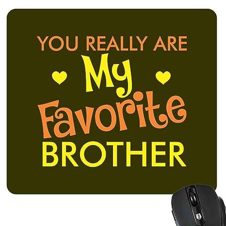 YaYa Cafe Birthday Gift For Brother Mousepad Favorite Rakhi