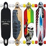 Longboard Komplettboard Original Atlantic Rift 107x24cm ABEC 9 Longboard Skelett