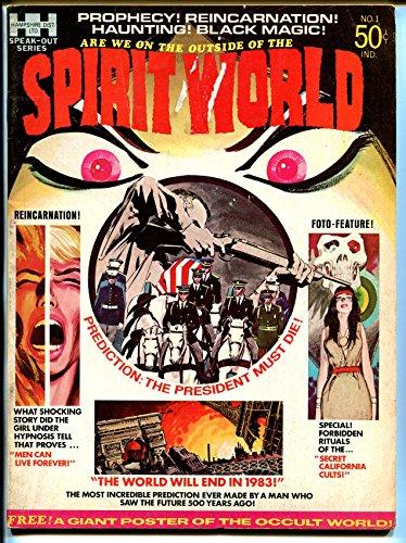Spirit World #1 1971-Hampshire-1st issue-Jack Kirby-poster still attached-VG (Spirit Jack Kirby World)