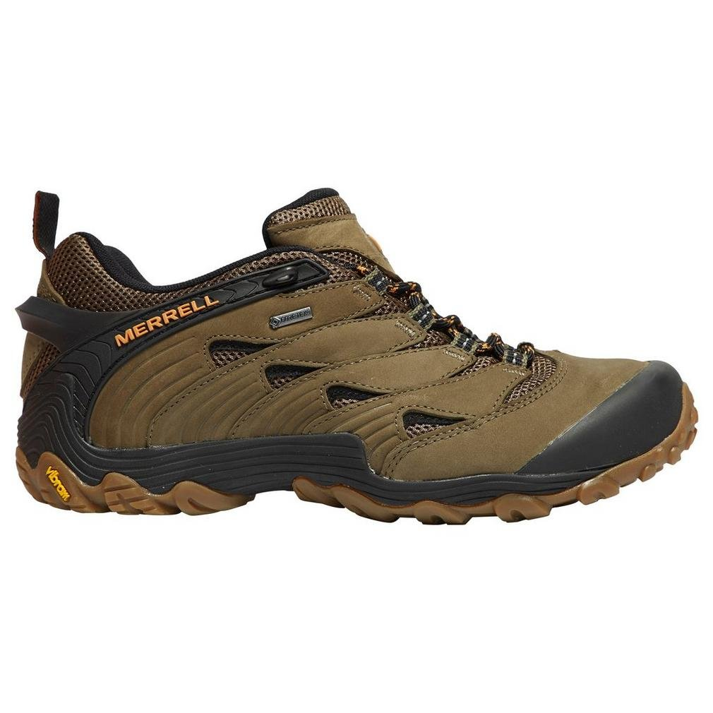 Merrell Mens Chameleon 7 GTX Waterproof Walking Hiking Shoes  43.5 EU|Gr眉n