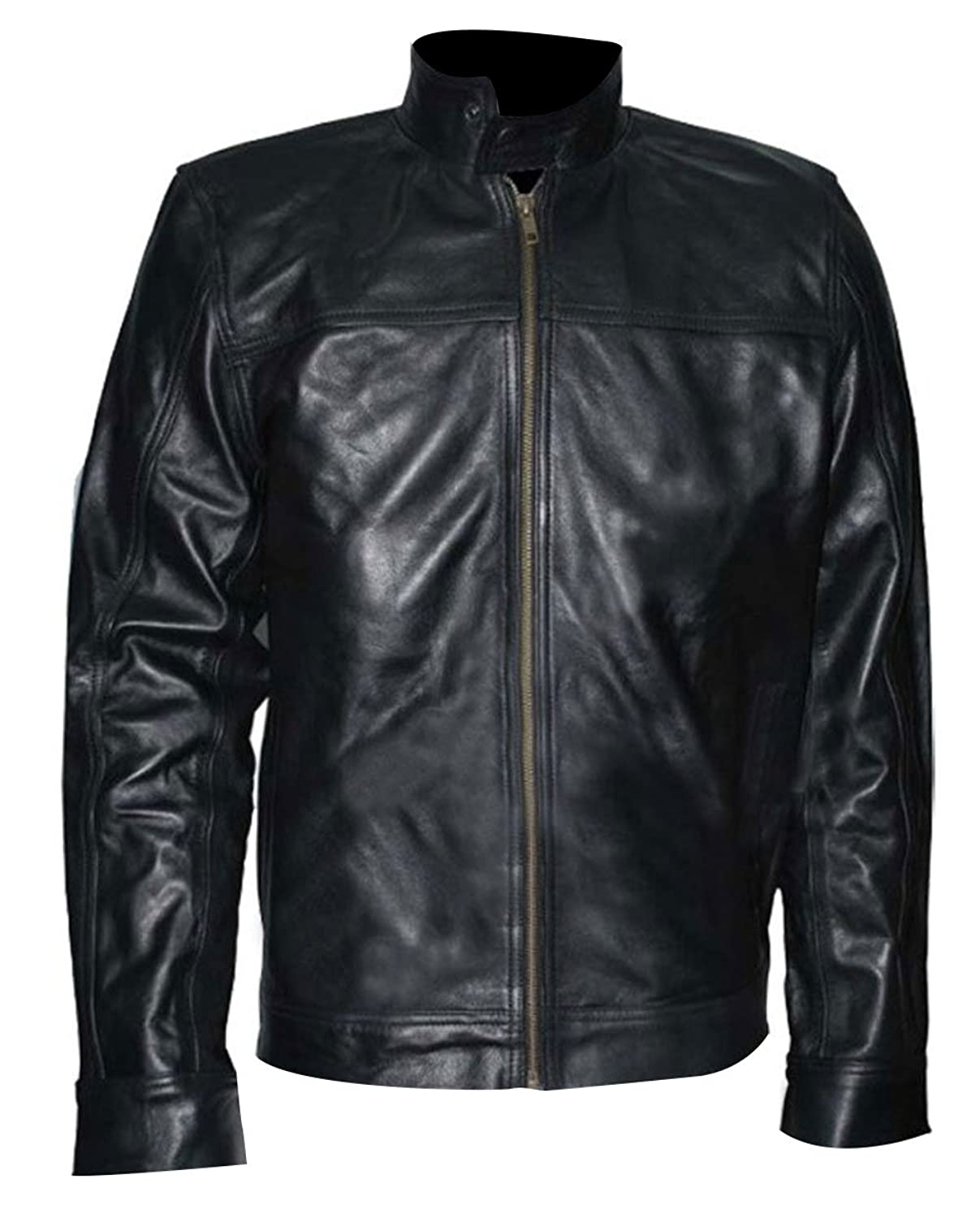 Cradle 2 The Grave Jet Li's Mens Black Stylish Genuine Leather Jacket