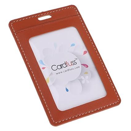 magideal Premium PU Tarjeta de piel porta-tarjetas ...