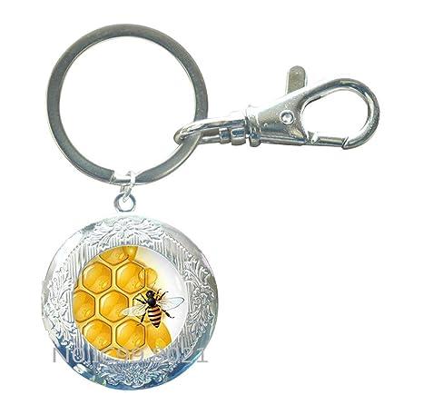 Amazon.com: Joyería de panal de miel – abeja de miel ...
