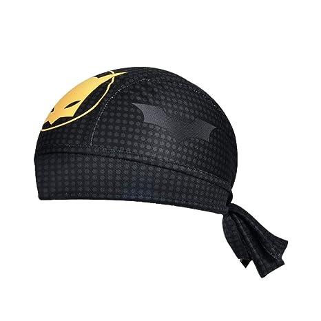 LaceQiao Cycling Cap Sweat Proof Sunscreen Headwear Bike Team Scarf Bicycle  Bandana Pirate Headband Riding Hood f9383ab564c2
