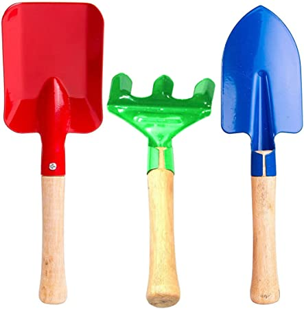 Amazon Com Annymall Garden Tools 3 Piece Set 8 Metal With