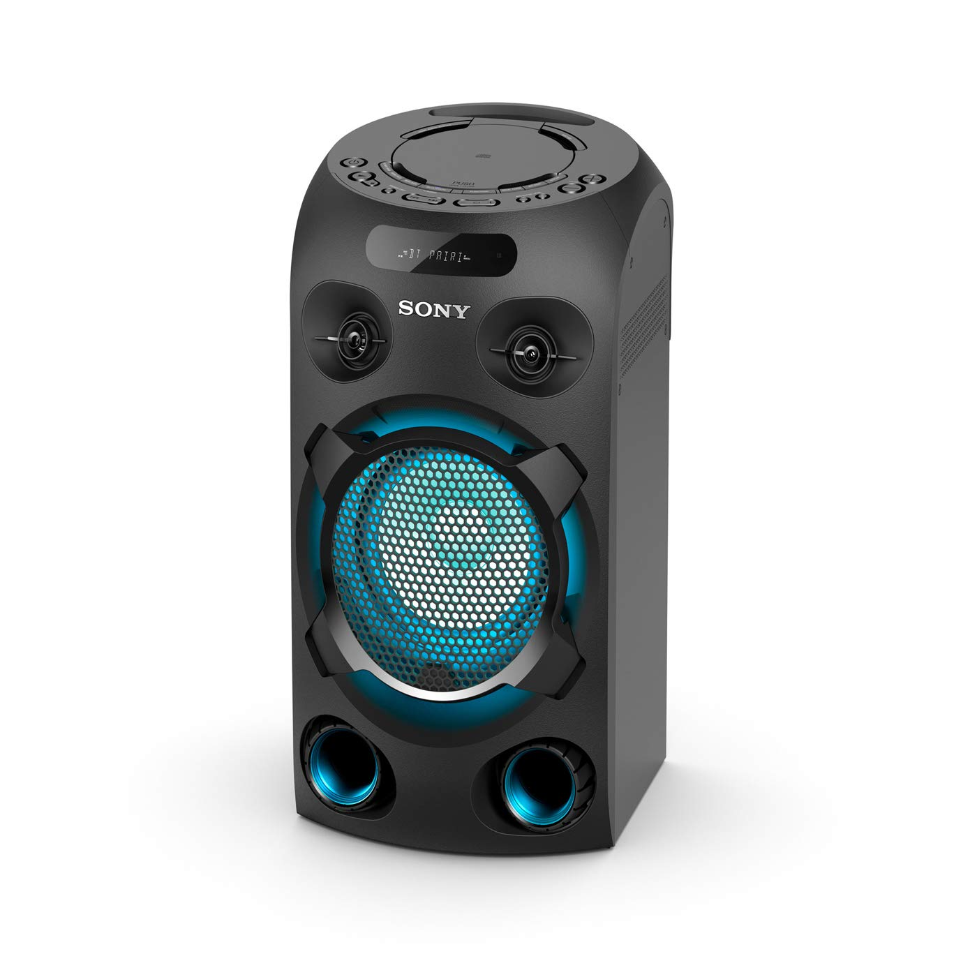 Sony MHC-V02, Compact High Power Party Speaker. One Box Music System, Blue