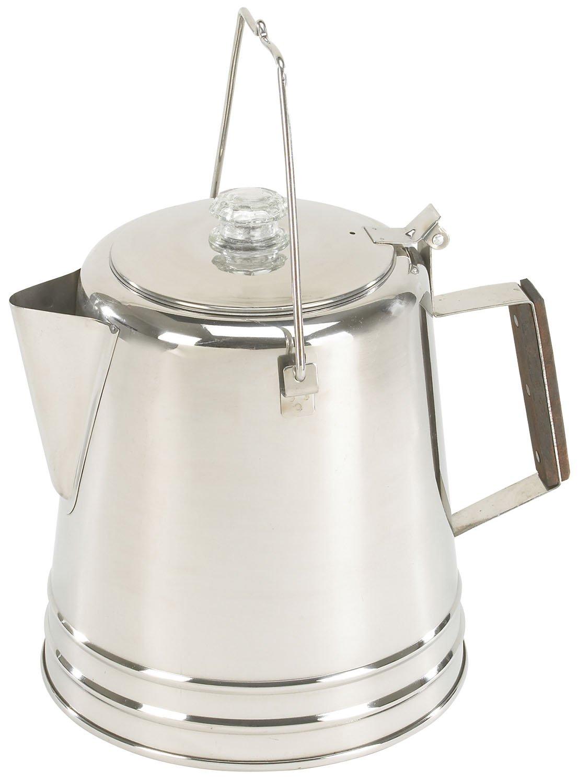 Amazon.com: Stansport 28 Taza Percolator Café Pot: Sports ...